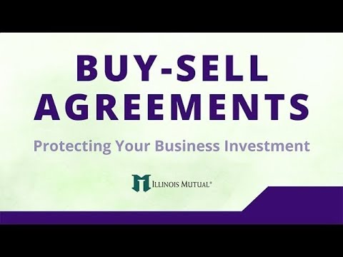 Buy Sell Agreements Youtube