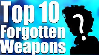 TOP 10 FORGOTTEN WEAPONS OF ZOMBIES! (Call of Duty Zombies)