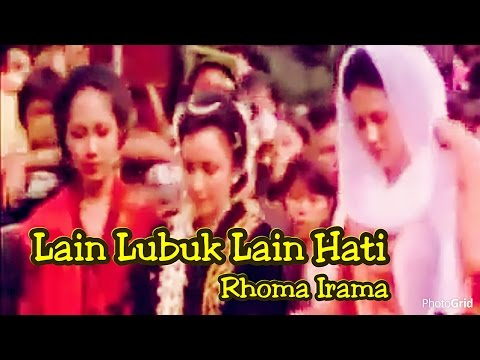 Lain Lubuk Lain Hati - Rhoma Irama - Original Video Clip film