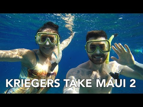 KRIEGERS TAKE MAUI FT. ALI KRIEGER - SNORKELING SUNRISE