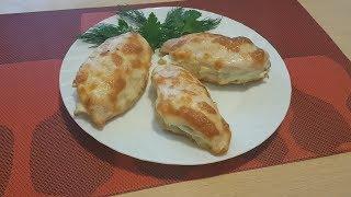 Куриное филе с творожным сыром и грушей в духовке