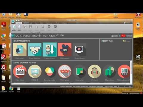 VSDC Video Editor | Save videos in .mp4 .avi