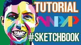 TUTORIAL WPAP (LENGKAP) SKETCHBOOK DI ADNROID BY RIZWAN