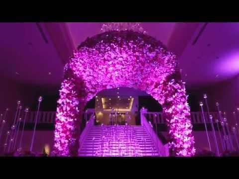 Оформление свадьбы цветами бумажными