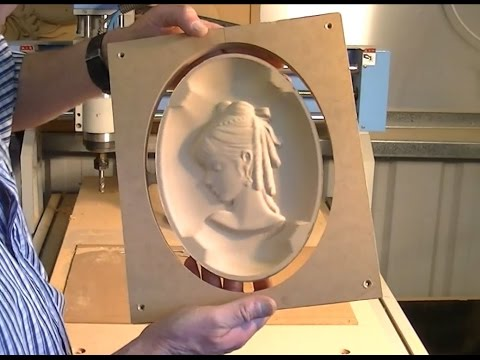 127 Wedgwood made by CNC router Art Décor