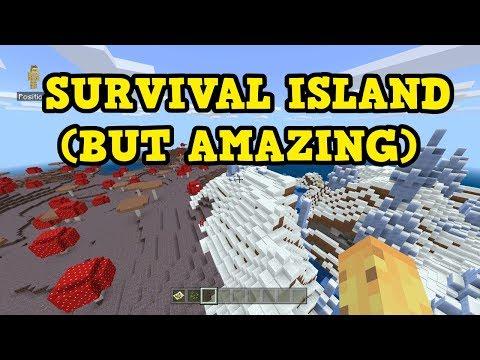MUSHROOM SPIKES Survival Island - Switch / MCPE Seed