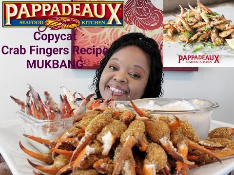 Pappadeaux Copycat Crab Fingers Recipe MUKBANG EATING SHOW