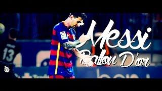 Messi - Ballon D'Or 2015 - 4K