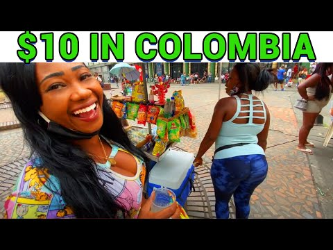 What Will $10 Get Me in CALI, COLOMBIA? (Colombian Food, Drinks, And Chicas 💃🏽)