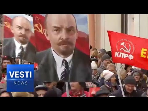 World Left Unite in Moscow to Celebrate 100th Anniversary of October Revolution in Russia