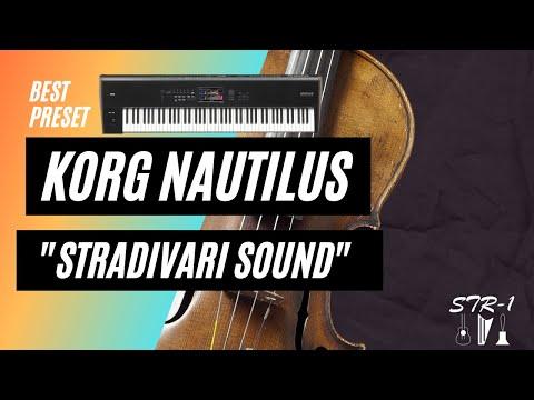 KORG NAUTILUS STRADIVARI and SYNTH