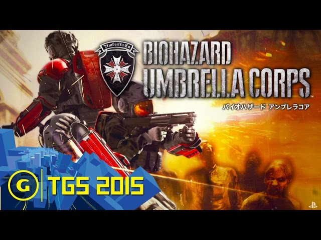 Biohazard Umbrella Corps: New Tactical Shooter Trailer – TGS 2015 Sony Press Conference