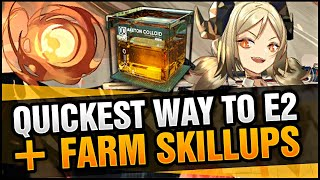 THE GAME IS WRONG - THE REAL WAY TO FARM TO E2 AND SKILLUP YOUR UNITS! Arknights!