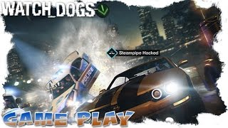 Watch Dogs - Straight And Narrow - Parker Square // Transporter Contract - Gameplay.