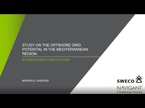 Offshore Power Grid Potential in the Mediterranean Region