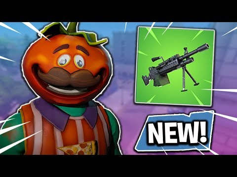 NEW WEAPON UPDATE! LMG COMING SOON! Fortnite Battle Royale