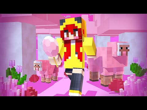 NOVO BIOMA DOCE DO MINECRAFT | MUNDO DE CHERRY 🌸 #6