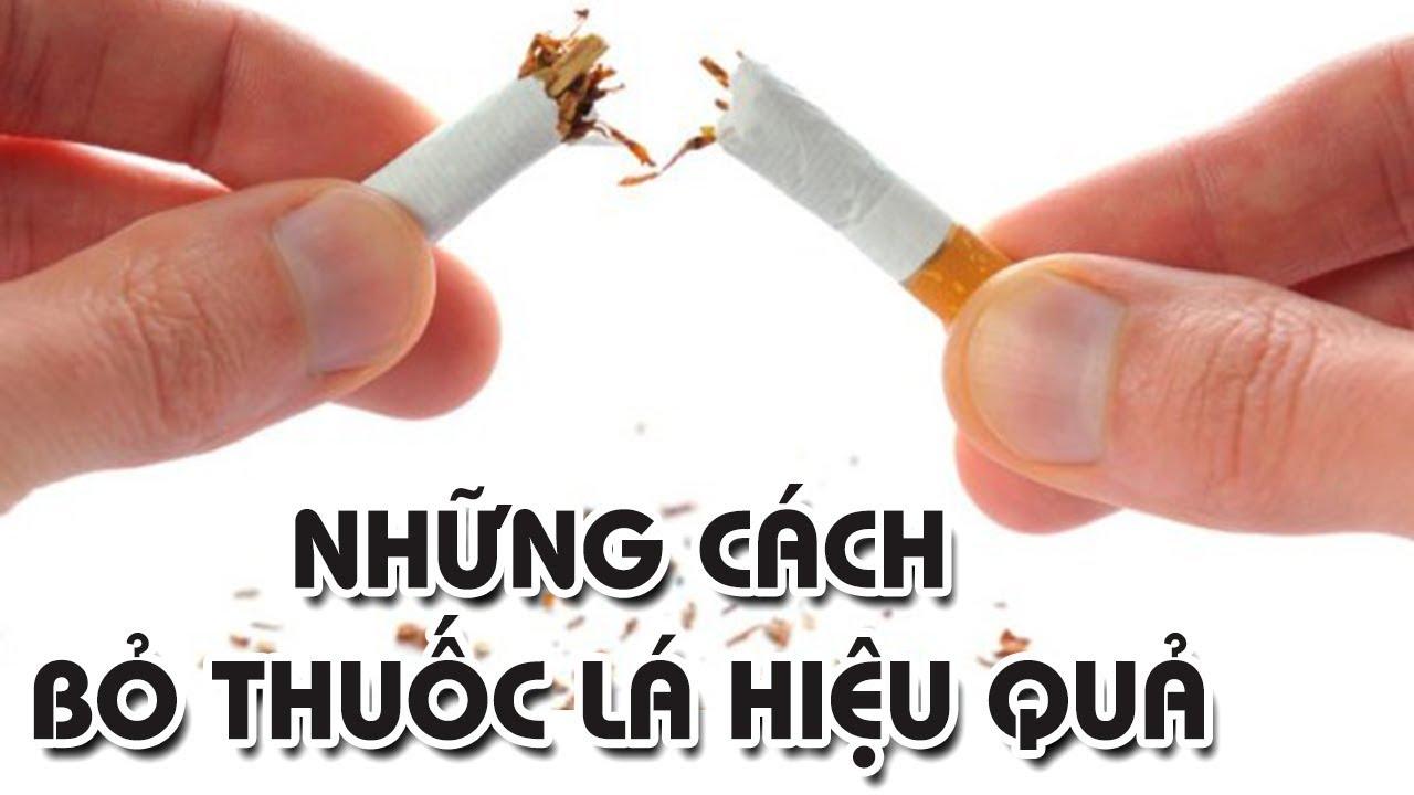 Những cách bỏ thuốc lá hiệu quả - Mẹo bỏ thuốc lá - CTLTN