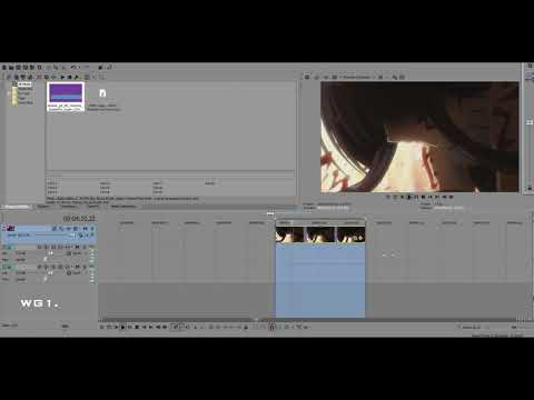 [VOICE + TEXT] Learn how to apply Fast or Slow Motion with (ex) Sony Vegas Pro 14. Vegas Pro 14 tuto.