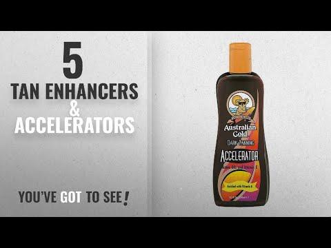 Top 10 Tan Enhancers & Accelerators [2018]: Australian Gold Dark Tanning Accelerator Lotion 250ml