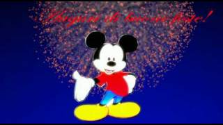 meilleurs voeux de mickey mouse.dv