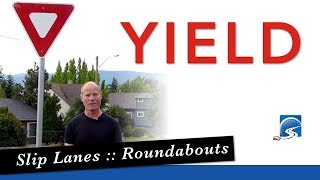 YIELD Sign and How to Give the Right-of-Way to Pass Your Road Test