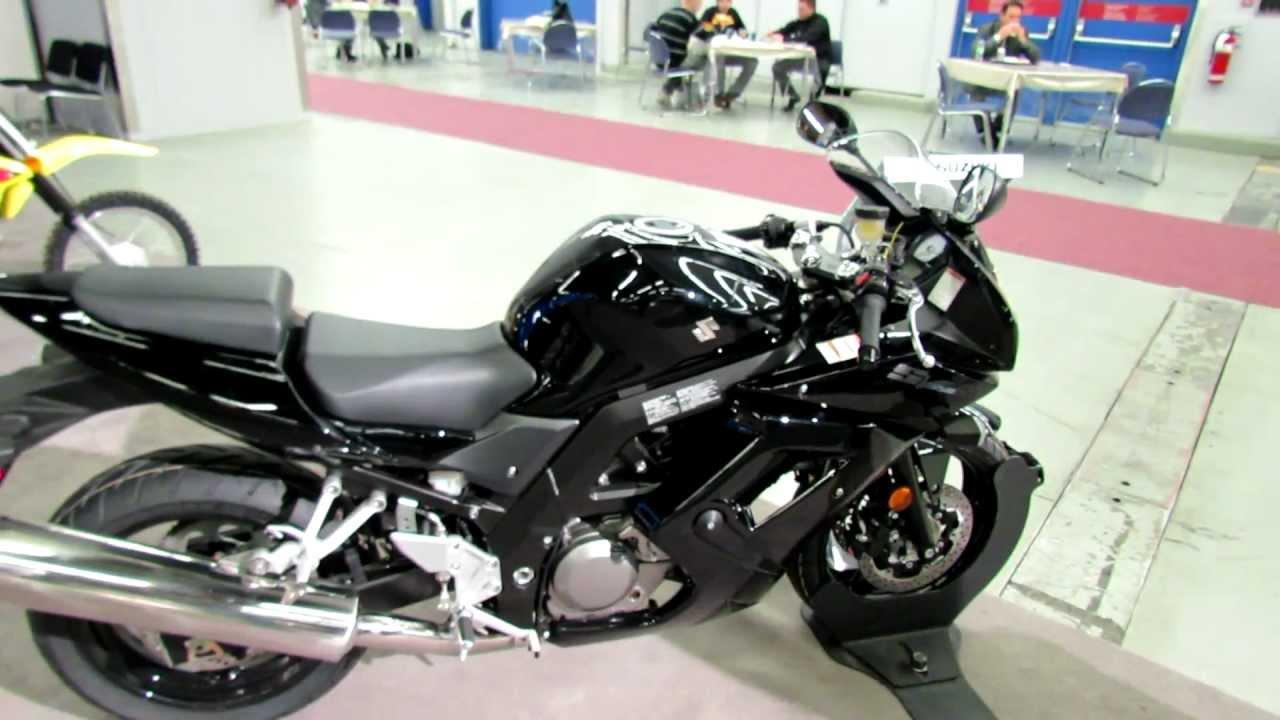 2012 suzuki sv650s abs at 2012 montreal motorcycle show - Salon de moto montreal ...