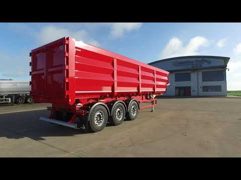 New 2018 Luck bulk steel tipping trailer