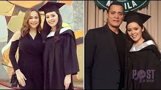 LOOK  Almira Muhlach and Bong Alvarez are proud parents on daughter Illa's graduation! (Pinoy Trend)