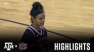 Women's Basketball: Highlights | A&M 82, Auburn 73 thumbnail
