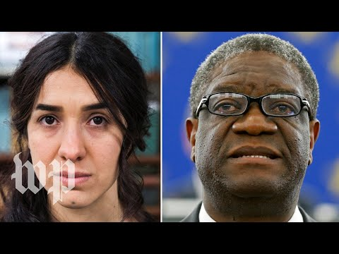 2018 Nobel Peace Prize awarded to Denis Mukwege and Nadia Murad