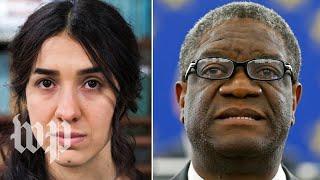 2018 Nobel Peace Prize awarded to Denis Mukwege and Nadia Murad