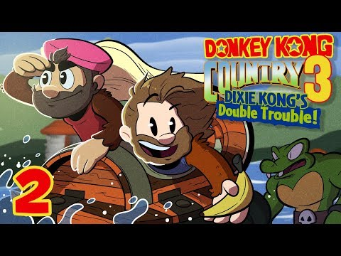 Donkey Kong Country 3 | Let's Play Ep. 2 | Super Beard Bros.