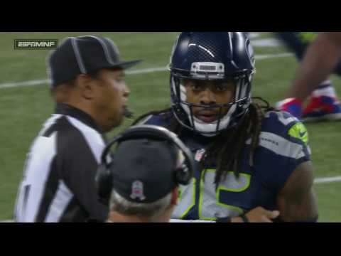 Richard Sherman Picks Off Tyrod Taylor, Mean Mugs an Angry Rex Ryan | Bills vs. Seahawks | NFL