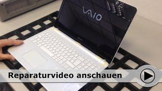 Tastatur und Topcover Tausch an der Sony VAIO SVF-15 Serie