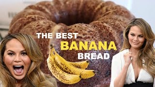 CHRISSY TEIGEN'S BOMB A** BANANA BREAD | Kailey's Kitchen