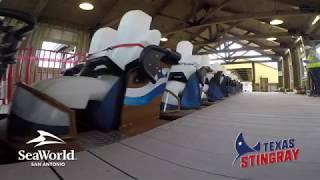 Texas Stingray POV | SeaWorld® San Antonio