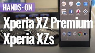 sony xperia xzs and xz premium hands on