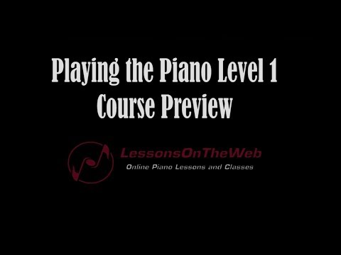 Music Basics: Note Reading, Dynamics, Two Handed Songs, - Playing the Piano 1 Preview