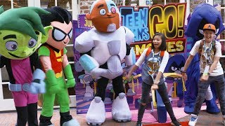 DC Kids at Comic-Con! Teen Titans Go! To The Movies, Aquaman, Shazam! | DC Kids