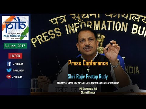Press Conference by Union Minister Rajiv Pratap Rudy on Key Initiatives during 3 Years of Govt