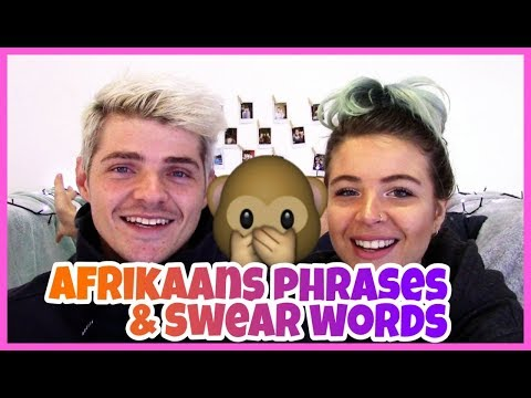 Afrikaans Phrases And Swear Words | South African Food | Diversity Rocks