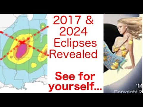 Earth Changes in USA From Solar Eclipse Paths of 2017 & 2024 (a short excerpt)