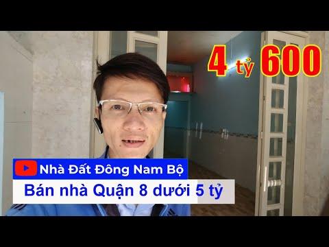 Chính chủ Bán nhà hẻm 6m Dương Bá Trạc Quận 8 dưới 5 tỷ mới nhất 2021