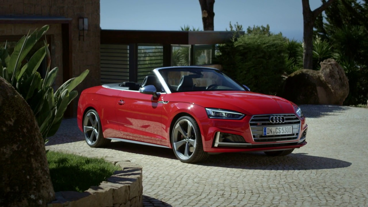 2017 audi s5 cabriolet footage youtube. Black Bedroom Furniture Sets. Home Design Ideas