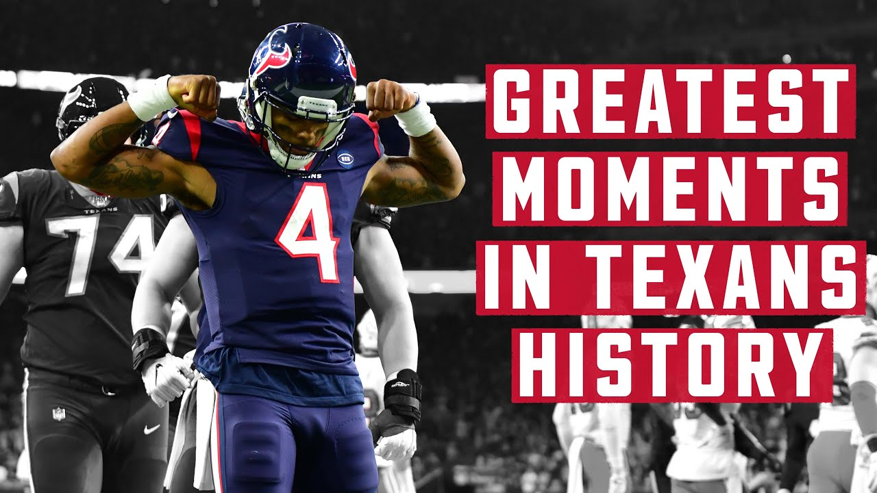 BEST Plays, Moments and Celebrations in Houston Texans History