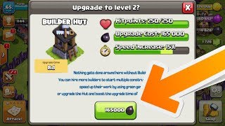 NEW BUILDER HUT UPDATE COMING SOON! | UPGRADE BUILDER HUTS TO LEVEL 2 IN CLASH OF CLANS!!