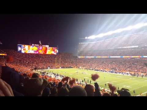 Sports Authority Field GETS LOUD! Von Miller Sacks Roethlisberger!