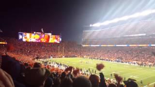 Sports Authority Field GETS LOUD! Von Miller Sacks Roethlisberger!