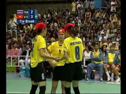 [HD] 2007 SEA GAME Sepaktakraw Woman Final - Part2